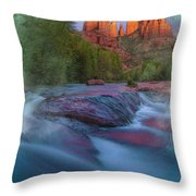 Beauty From Afar Throw Pillow