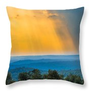 Beauty From The Heavens Throw Pillow