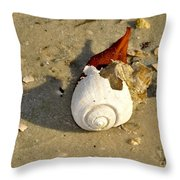 Beauty From The Sea Throw Pillow