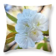 Beauty Has No Name... Throw Pillow