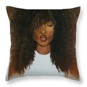 Beauty II Throw Pillow