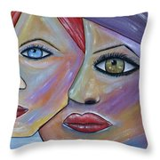 Beauty In Ourselves Throw Pillow by Danielle Allard