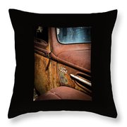 Beauty In Rust Throw Pillow