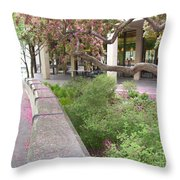 Beauty In Spring Throw Pillow