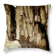Beauty In The Cave Throw Pillow