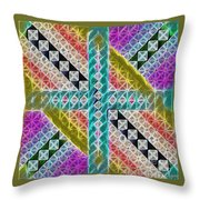 Beauty In The Cross Throw Pillow