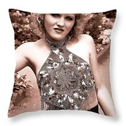 Beauty In The Garden Throw Pillow