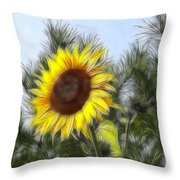 Beauty In The Pines Throw Pillow