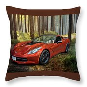 Beauty In The Woods Throw Pillow