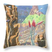 Beauty In Wilderness Throw Pillow