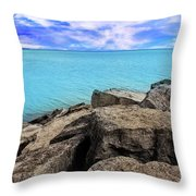 Beauty Is In You Throw Pillow