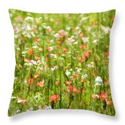 Beauty Is Spring Throw Pillow