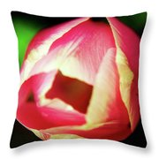 Beauty Is The Opening Throw Pillow