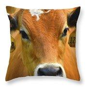 Beauty Mark Throw Pillow