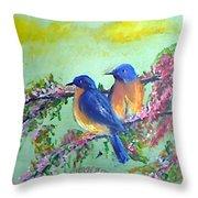 Beauty Of Birds Throw Pillow