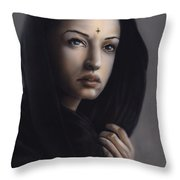 Beauty Of India Throw Pillow