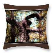 Beauty Of Natures Art Throw Pillow