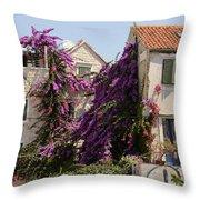 Beauty Of Split Throw Pillow