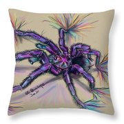 Beauty Of The Crawlies Throw Pillow