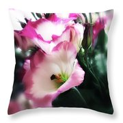 Beauty Of The Day Throw Pillow