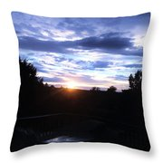 Somewhere The Sun Is Shining Throw Pillow