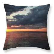 Beauty Of The Sunrise Throw Pillow