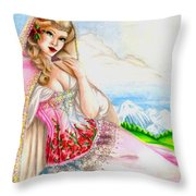 Beauty Of The View Throw Pillow