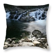 Beauty Of The Washougal River Throw Pillow