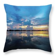 Beauty Over The Water Throw Pillow