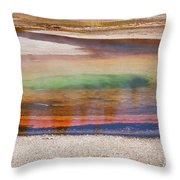 Beauty Pool Throw Pillow
