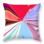 Beauty Shock, Wings Of Imagination Throw Pillow