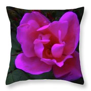 Beauty Unfurls Throw Pillow