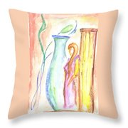 Beauty's Mystery Throw Pillow