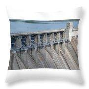 Beaver Dam Spillway Gates Throw Pillow