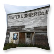 Beaver Lumber Company Ltd Robsart Throw Pillow