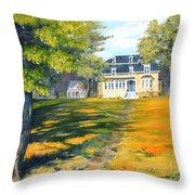 Beaverbrook House Throw Pillow