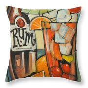 Bebida De Turista Throw Pillow