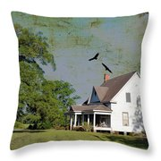 Because We Can Fly Together Throw Pillow