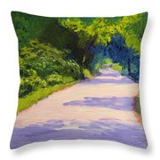 Beckoning Trail Throw Pillow