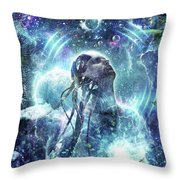 Become The Light Throw Pillow