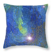 Become The Peace Throw Pillow