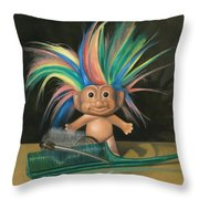 Bed Head Throw Pillow