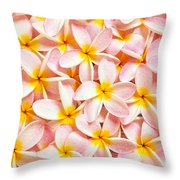 Bed Of Light Throw Pillow