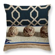 Bed Time Snack Throw Pillow