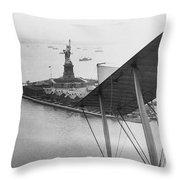 Bedloe's Island Throw Pillow