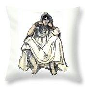 Bedouin 1 Throw Pillow