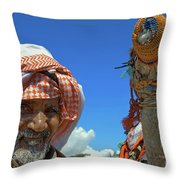 Bedouin Throw Pillow