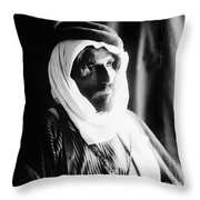 Bedouin Man, C1910 Throw Pillow