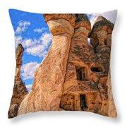 Bedrock Estates Throw Pillow