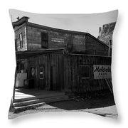 Bedrock Store 1881 Throw Pillow